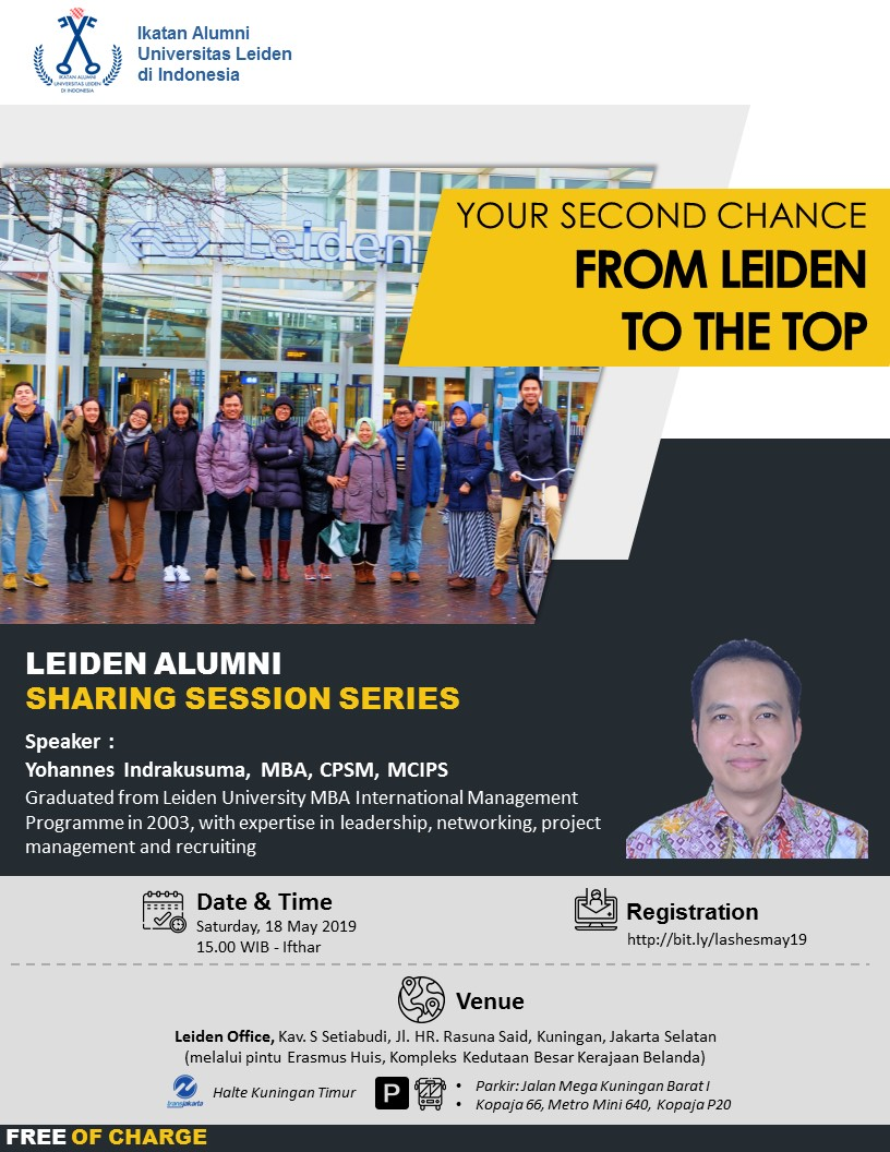Your Second Chance- From Leiden to the Top