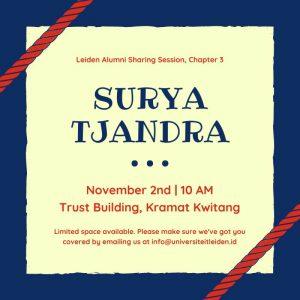 Surya Tjandra Meet and Greet